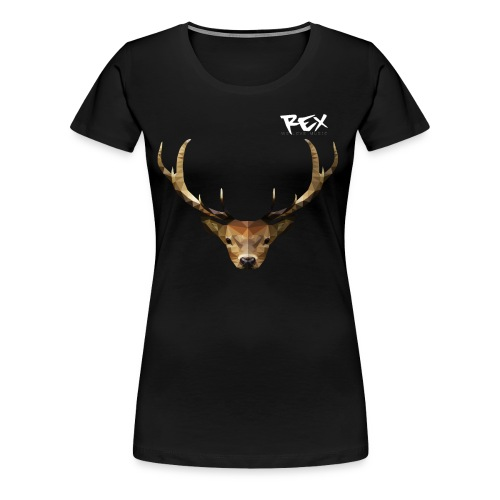 Rex Sounds Stag - Women's Premium T-Shirt
