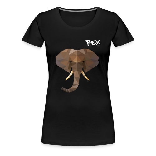 Rex Sounds Elefant - Women's Premium T-Shirt