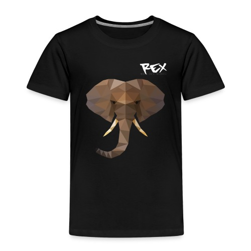 Rex Sounds Elefant - Kids' Premium T-Shirt