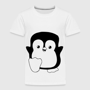 Happy Penguin T-Shirts - Kinder Premium T-Shirt