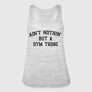 A Gym Thing Sweaters - Vrouwen tank top van Bella