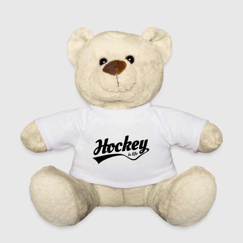 hockey is life 5 Kuscheltiere - Teddy