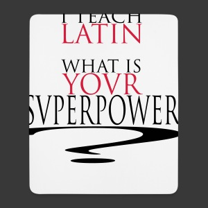 I TEACH LATIN - Mouse Pad (vertical)