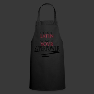 I TEACH LATIN - Cooking Apron