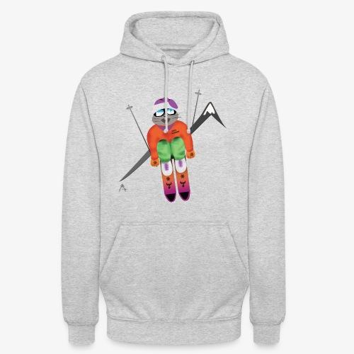 Snow board  - Sweat-shirt à capuche unisexe