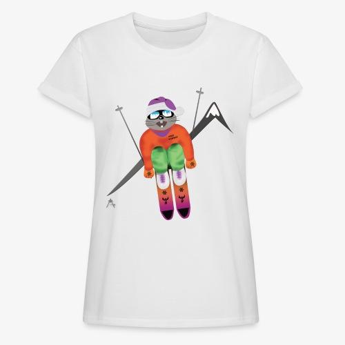 Snow board  - T-shirt oversize Femme