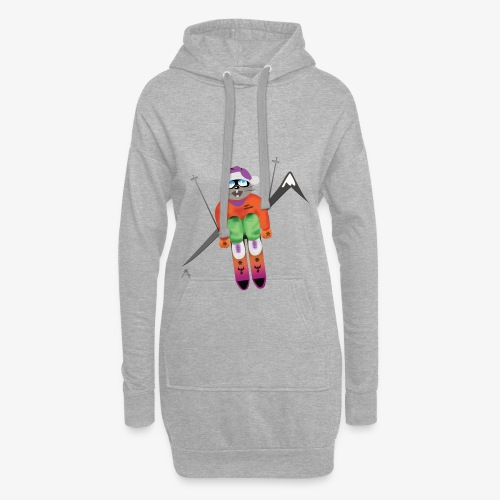 Snow board  - Sweat-shirt à capuche long Femme