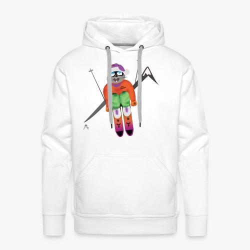 Snow board  - Sweat-shirt à capuche Premium pour hommes