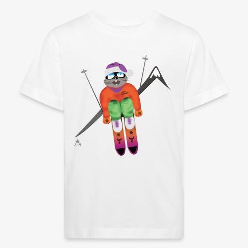 Snow board  - T-shirt bio Enfant