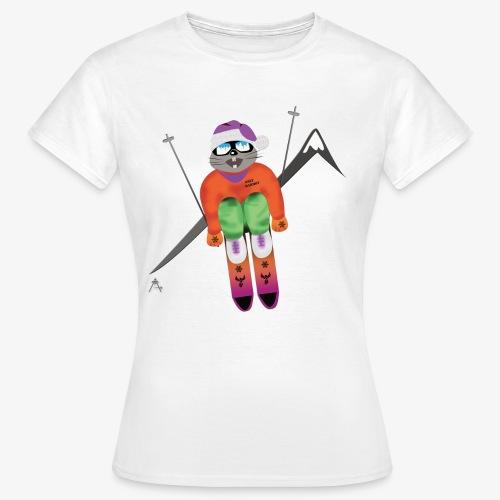 Snow board  - T-shirt Femme