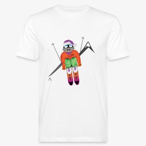 Snow board  - T-shirt bio Homme