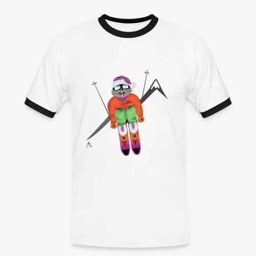 Snow board  - T-shirt contrasté Homme