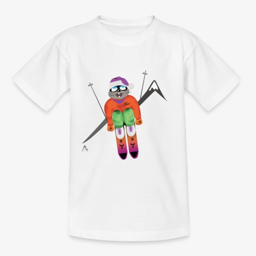 Snow board  - T-shirt Ado