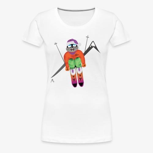 Snow board  - T-shirt Premium Femme