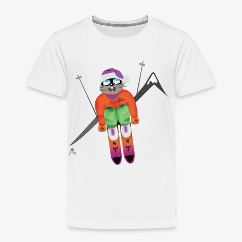 Snow board  - T-shirt Premium Enfant