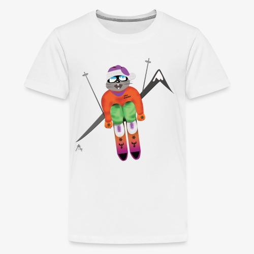 Snow board  - T-shirt Premium Ado