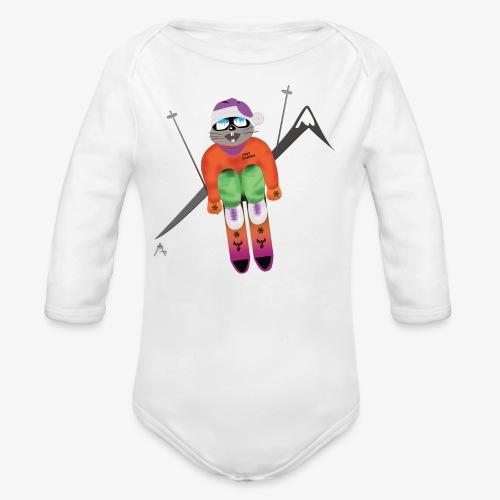 Snow board  - Body bébé bio manches longues