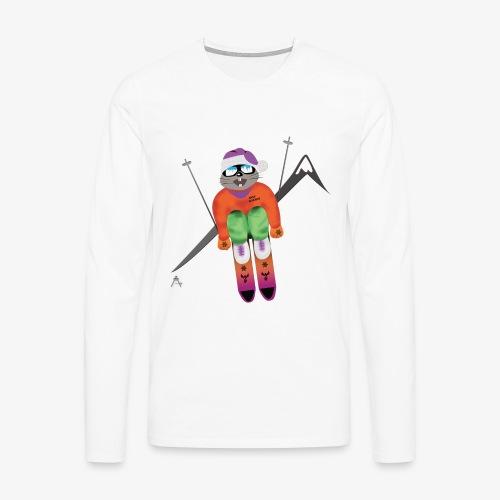 Snow board  - T-shirt manches longues Premium Homme