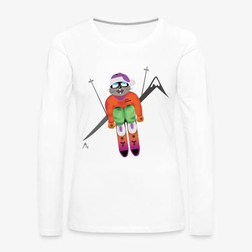 Snow board  - T-shirt manches longues Premium Femme