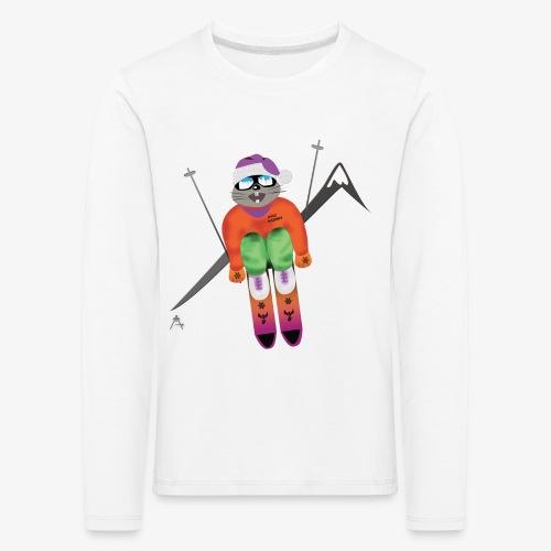 Snow board  - T-shirt manches longues Premium Enfant