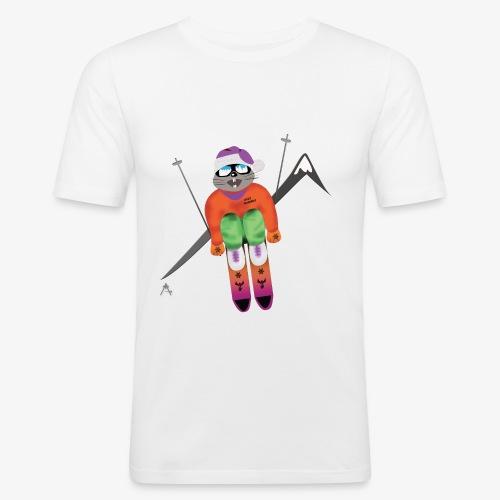 Snow board  - Tee shirt près du corps Homme