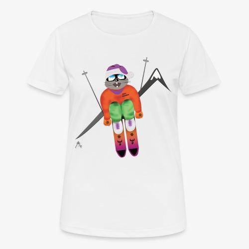 Snow board  - T-shirt respirant Femme
