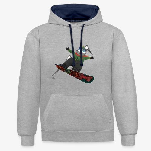 snowboard marmot - Sweat-shirt contraste