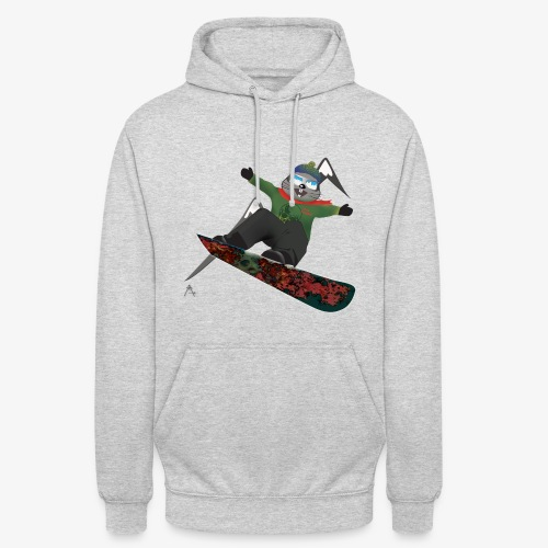 snowboard marmot - Sweat-shirt à capuche unisexe