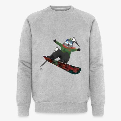 snowboard marmot - Sweat-shirt bio Stanley & Stella Homme