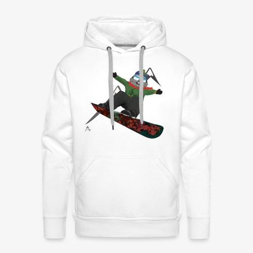 snowboard marmot - Sweat-shirt à capuche Premium pour hommes