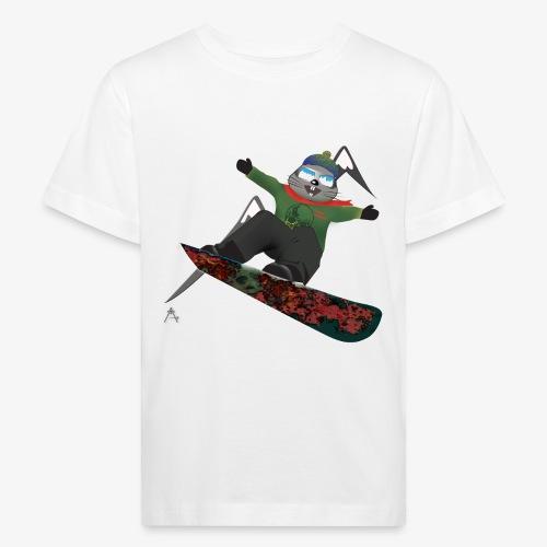 snowboard marmot - T-shirt bio Enfant