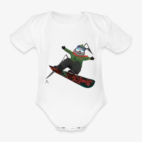 snowboard marmot - Body bébé bio manches courtes