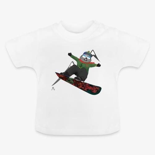 snowboard marmot - T-shirt Bébé