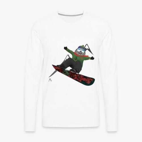 snowboard marmot - T-shirt manches longues Premium Homme