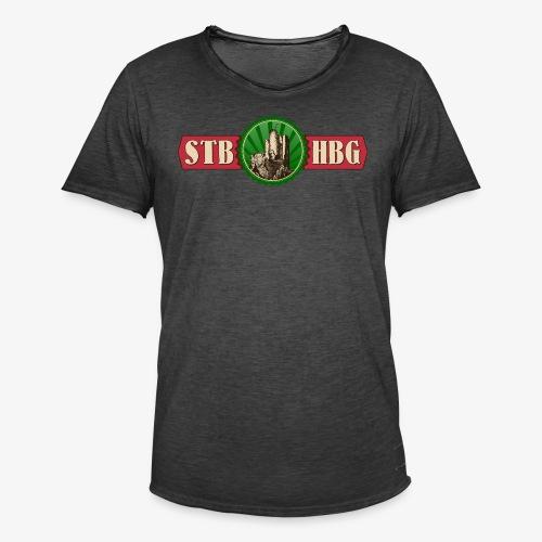 STB-HBG - Männer Vintage T-Shirt
