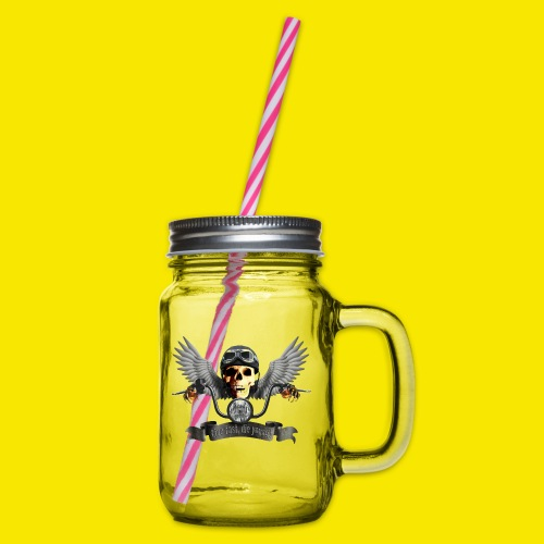 SWEATSHIRT BIKER SKULL - Bocal à boisson