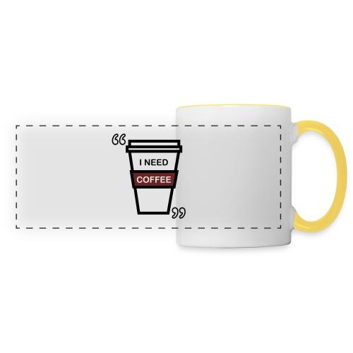 I need coffee Tote Bag - Panoramamok