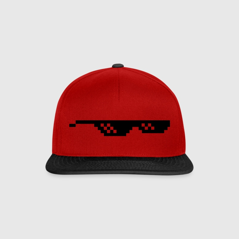 Deal with it Sonnenbrille Pixelbrille Caps & Mützen - Snapback Cap