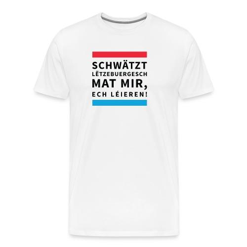 Men's Premium T-Shirt - Button