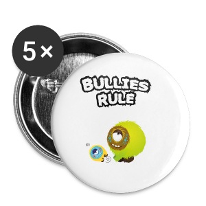 Bullies rule T-Shirts - Buttons klein 25 mm
