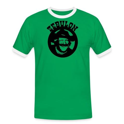 ZEBULON MACAHAN - Camiseta contraste hombre