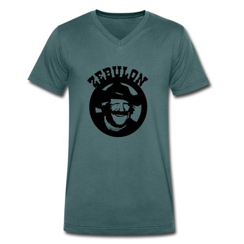 ZEBULON MACAHAN - Camiseta ecológica hombre con cuello de pico de Stanley & Stella