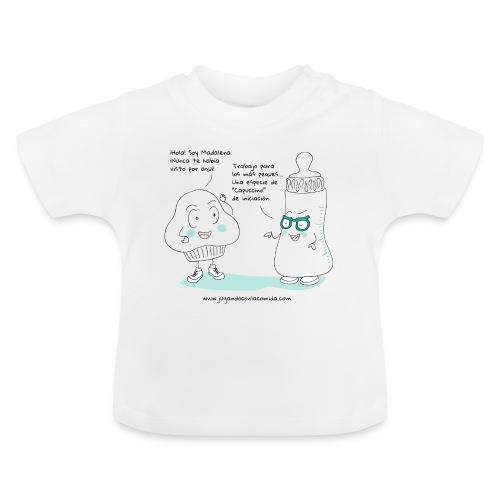 Jugando con la Comida: Biberón - Camiseta bebé