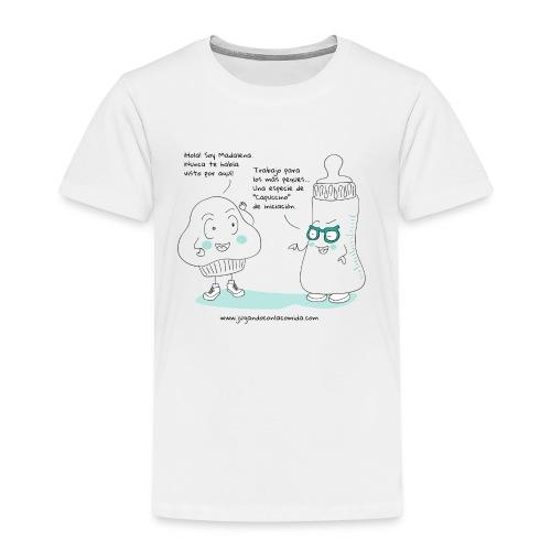 Jugando con la Comida: Biberón - Camiseta premium niño