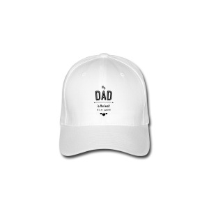 my dad is best T-Shirts - Flexfit Baseballkappe