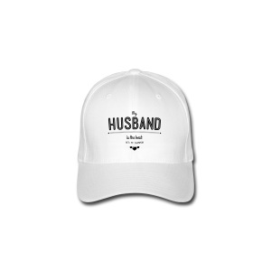 my husband is best T-Shirts - Flexfit Baseballkappe