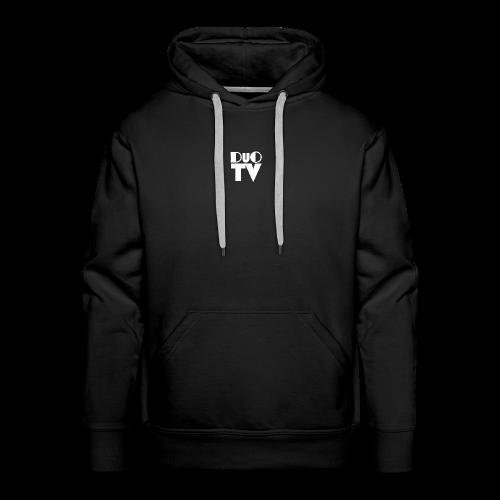 Snapback Simple (weiß-schwarz) - Männer Premium Hoodie