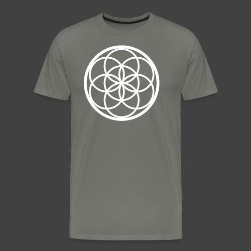 Flower of Life - Camiseta premium hombre