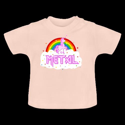 heavy einhorn - Baby T-Shirt
