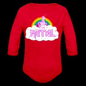 metal musik heavy einhorn regenbogen pink lustig